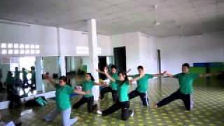 Phim | Lớp hướng dẫn viên aerobic mầm non nhóm 4 | Lop huong dan vien aerobic mam non nhom 4