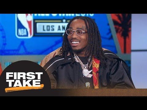 Quavo makes big All-Star Weekend announcement | First Take | ESPN