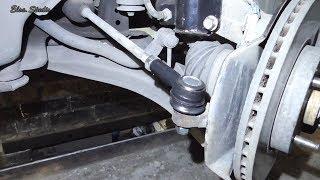 замена рулевого наконечника на Шевроле Эпика  Chevrolet Epica