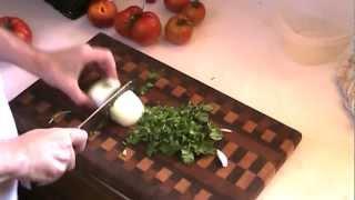 Mere Minutes: Making Fresh Tomatillo Salsa And Tomato Salsa