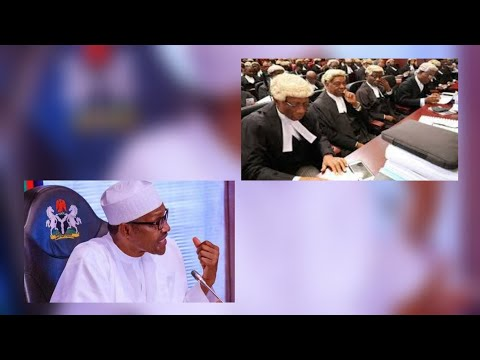 BUHARI IN MORE +R0UßL£ AS LAWYER  TO SUE HIM FOR LOCKDOWN ORDER HEAR FOR YOURSELF....
