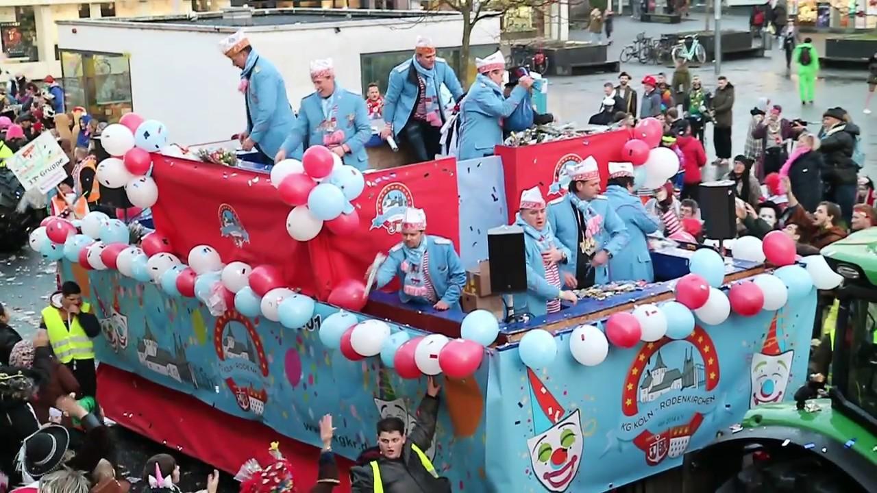 Karnevalszug In Köln