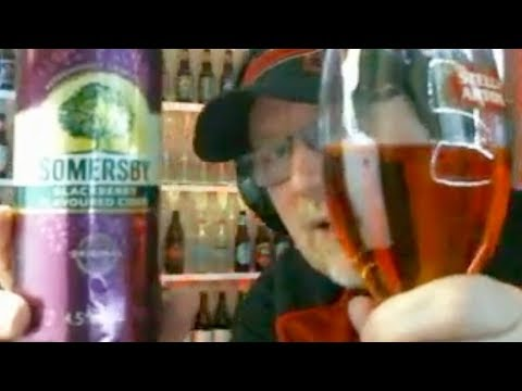 Somersby Blackberry Cider Review!