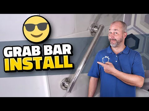 How To Install A Safety Grab Bar