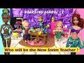 Anna and Elsa Toddlers go to Boarding School #2 First Day at School | Who is the new Swim Teacher?