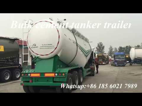 3 axle 60cbm 45cbm 40 ton 60 ton 70 ton dry silo bulk cement bulker tank  trailer for sale