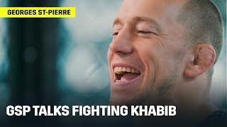 GSP Talks Fighting Khabib Nurmagomedov