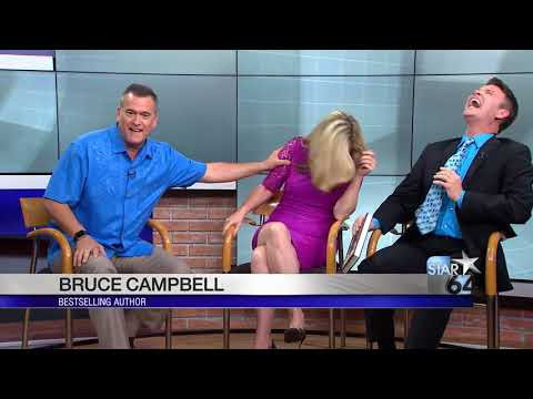 Actor and author Bruce Campbell talks about his career and his new book