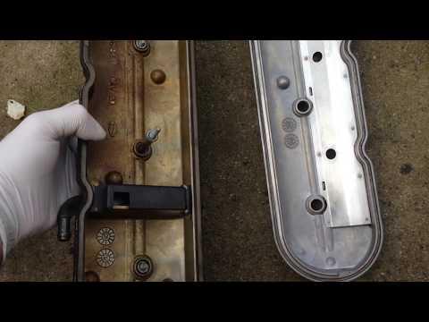 Cleaning Parts GM Chevy Tahoe Vortec LS Engine - vid # 23