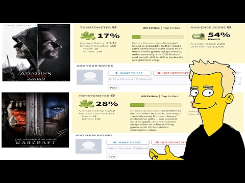 The REAL Reason Why Video Game Movies Suck