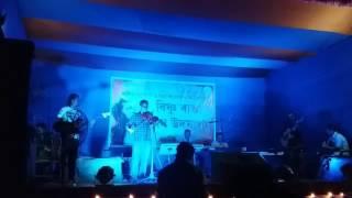 Porojonomor||Bishnu Rabha sangeet ||Violin by Manzil Kumar Gogoi
