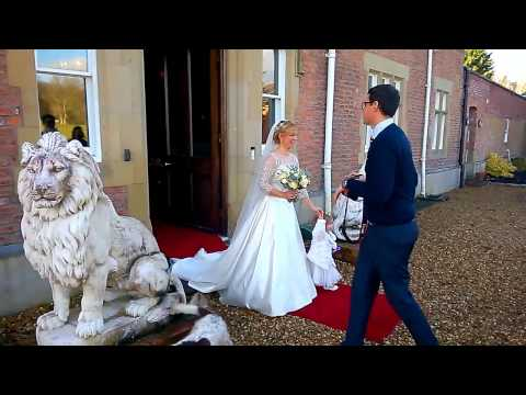 The Wedding of Nick and Rosie at Eriviat Hall December 2014