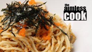 Japanese Sea Urchin Spaghetti - Uni Spaghetti Recipe