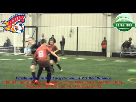 Indoor Soccer - Washington United Fury vs WT Red Raiders