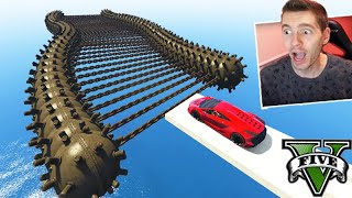 GTA V Online: A MEGA BOMBA RAMPA!! (CORRIDA com 100 BOMBAS!!!)