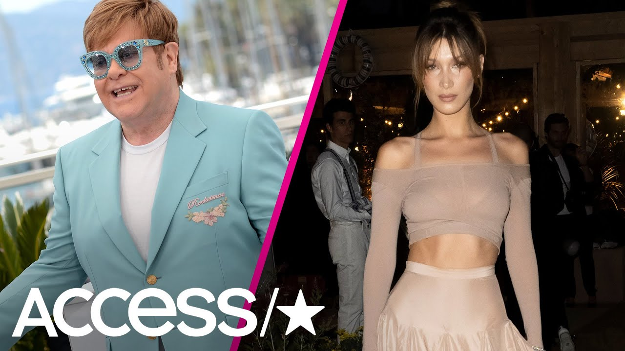 Elton John, Bella Hadid & More Stars Turn Up The Heat At Cannes 2019! | Access
