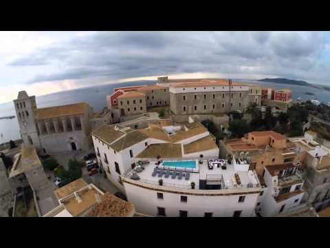 Palacio Bardaji - highest point in the Old Town - Luxury villa Ibiza