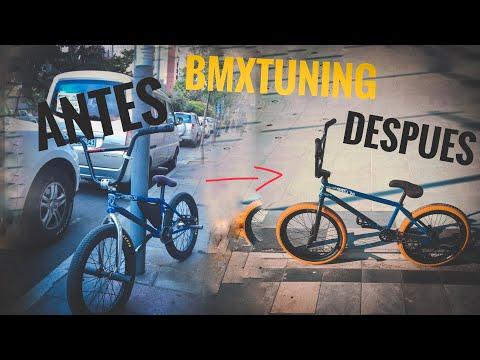 😍Cambiando de LOOK a mi BMX 🚲✨🦄 wiiiiiii