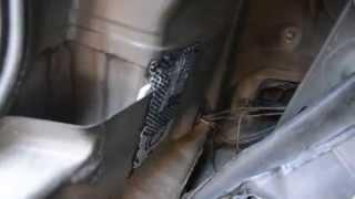 видео После кузовного ремонтав Mazda3 BL протекает крыша