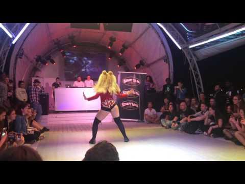 Dhq Ula Afro Fryc - judges showcase - SLAVIC DANCEHALL QUEEN 2017