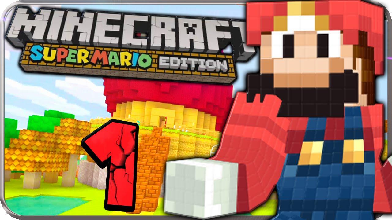 MINECRAFT SUPER MARIO EDITION Part Willkommen In Der Mario World - Minecraft mario spiele