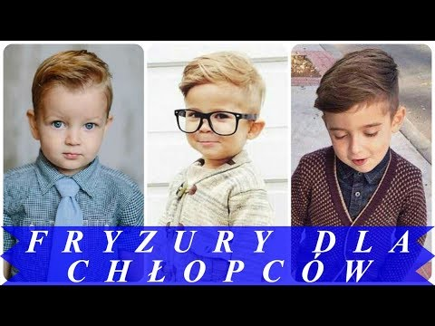 Modne Fryzury Dla Chłopców 2018 Youtube