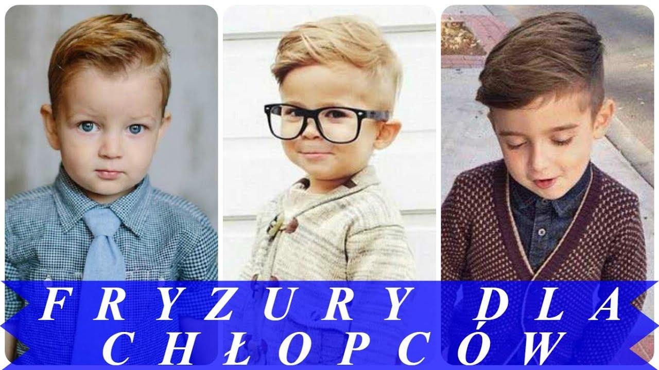 Modne Fryzury Dla Chłopców 2018