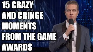 15 Crazy And Cringe Moments From The Game Awards