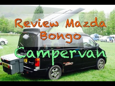MAZDA BONGO CAMPERVAN REVIEW
