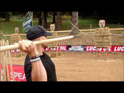 Spartan Race Spear Throw Tutorial | BUCK FURPEES