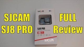 SJCAM SJ8 Pro 4K 60fps Action Camera - FULL REVIEW