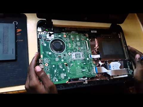 how to fix hard drive failure on hp laptop
