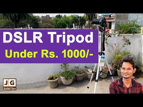 Best DSLR Tripod Under Rs. 1000 Full Review In Hindi.