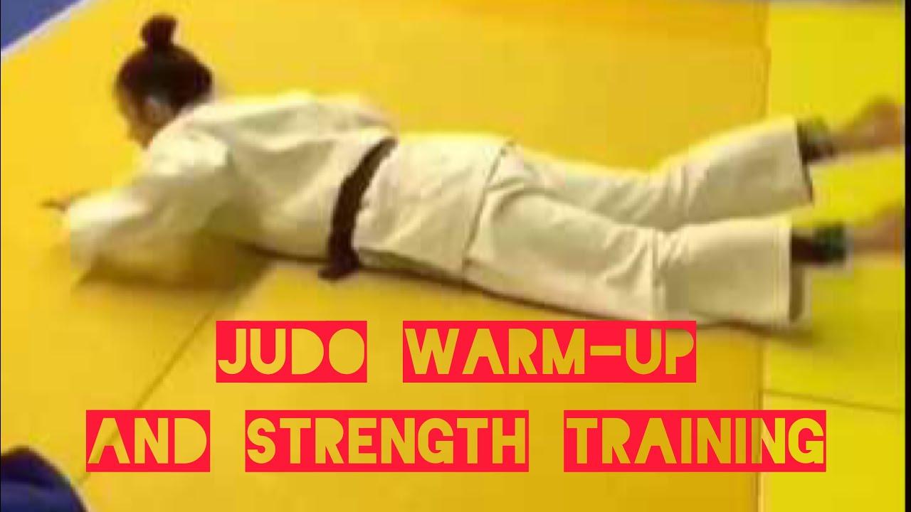 Judo warm-up and strength training - YouTube