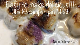 Ube Kapampangan Mochi - Complete Easy Step By Step Recipe