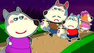 Wolf Family⭐️ No No, Please Come Back Home! - Wolfoo Kids Stories about Family | Kids Cartoon