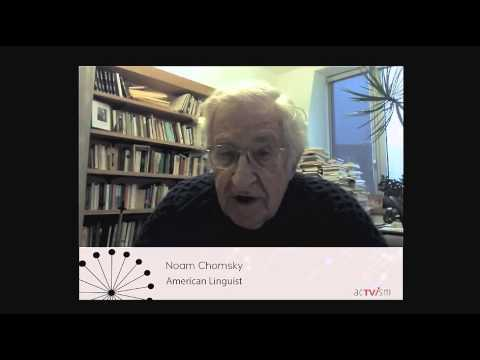 Noam Chomsky on basic income