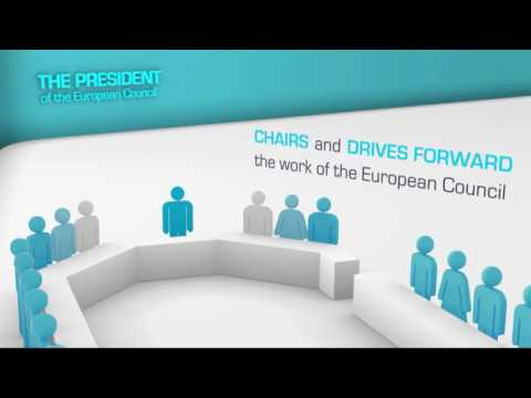 Animation on the role of the President of the European Council