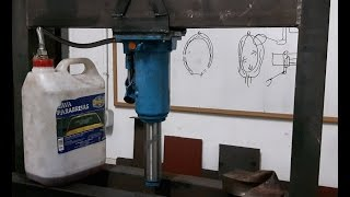 Home hydraulic press. Part 2: Hydraulic jack machining