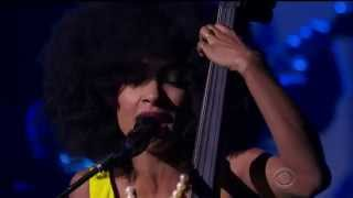Esperanza Spalding & Herbie Hancock - Sting Fragile at Kennedy Center Honors 2014