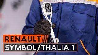 Instalación Pastilla de freno RENAULT THALIA I (LB0/1/2_): vídeo gratis
