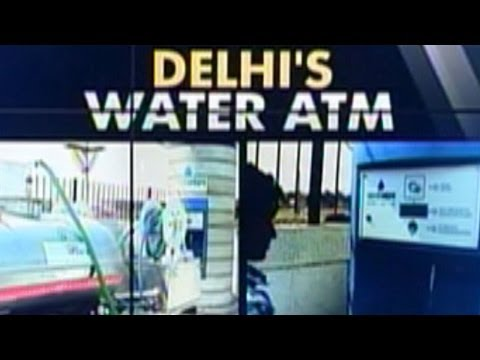 Water ATM's now in Delhi