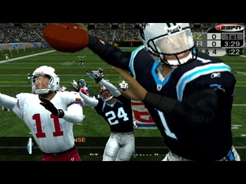 CAM NEWTON VS CARSON PALMER  ESPN NFL 2K5 PANTERS VS CARDINALS  YouTube