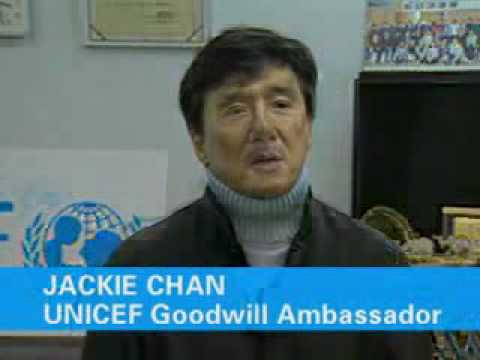 UNICEF: Jackie Chan Donates to Help Tsunami Victims