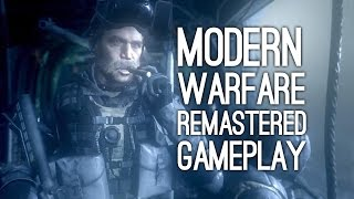 Modern Warfare Remastered Gameplay: Crew Expendable Mission