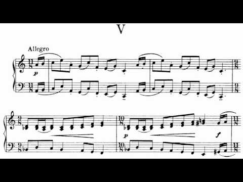 ABRSM Piano 2013-2014 Grade 6 C:1 C1 Berkeley Allegro Five Short Pieces  Op 4 No 5 Sheet Music