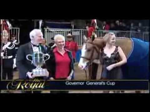Governor General of Canada Visits The Royal Agricultural Winter Fair