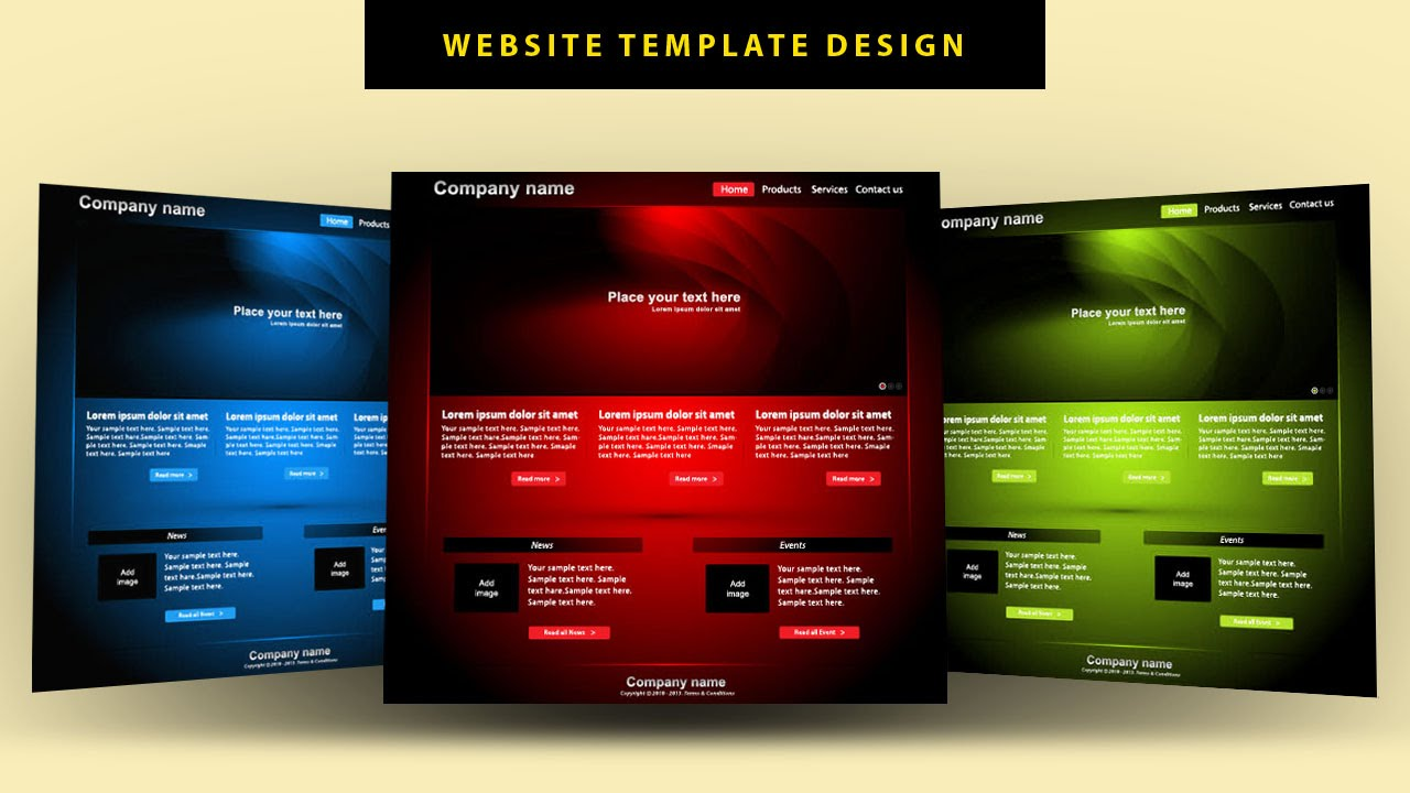 Ilrator Tutorial Website Template Design