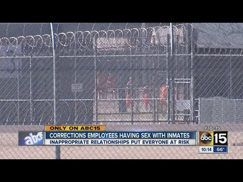 Corrections employees having sex with inmates