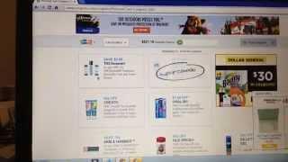 Como imprimir cupones / coupons.com/ cupon de Norelco $50
